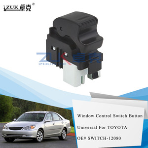 ZUK côté passager fenêtre commande électrique de puissance Bouton interrupteur pour Toyota Corolla RAV4 Camry Matrice YARIS Pour SCION xB xA