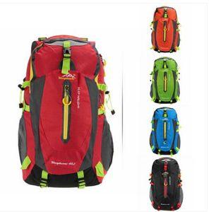 Ventas al por mayor envío gratuito bolsa de hombro Mochila transpirable resistente al agua Mochila al aire libre Viajar Senderismo