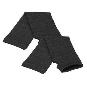 2019 Winter Wrist Arm Hand Warmer Knitted Long Fingerless Gloves Female Mitten Warmer Guantes mujer cheap Wholesale
