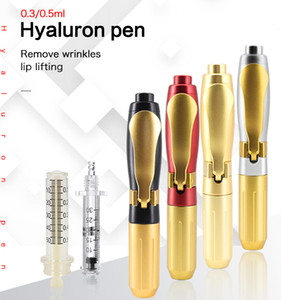 0.3&0.5 Hyaluron Pen Derma Mesotherapy Injection Gun for Lip Lifting Anti Wrinkle No Needle Beauty Machine Lip Injection New 2020