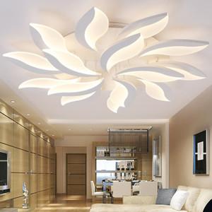 Lo nuevo las luces de techo de diseño moderno de acrílico de LED para el Estudio de la sala de estar dormitorio Lampe plafond avize techo de interior de la lámpara
