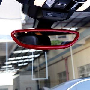 ABS anti-abbagliamento Car Interior Specchio retrovisore Cover Styling Modanature Trim per Porsche Macan Panamera Cayenme Accessori