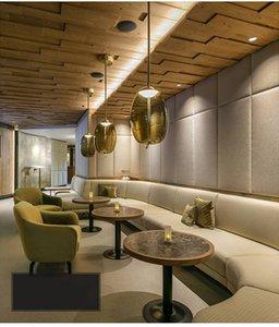Moderno loft industriale lampada a sospensione in vetro blu LED art deco Nordico hanglamp bianco per soggiorno cucina camera da letto salotto