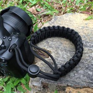 Dragonne pour caméra Bracelet de survie extérieur Paracord pour appareils photo reflex numériques Dragonne pour Nikon Canon Sony Pentax
