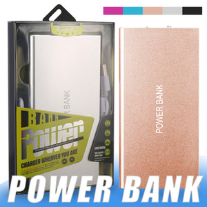 Портативная книга Power Bank 5000mAh Mobile Battery Backup Charger ультратонкий двойной USB-порт адаптер для мобильных телефонов планшетных ПК внешняя батарея