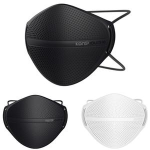 Kanshouzhe Mask lavável reutilizáveis Rosto de separação nariz Poeira Segurança poeira máscaras do respirador com 10pcs Filtros