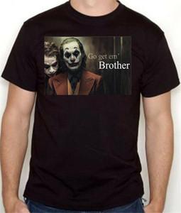 NEW JOKER T قميص رجل إمرأة جواكين فينيكس مجاني آخر والتغليف !!!! المتناثرة الهيب هوب تي شيرت