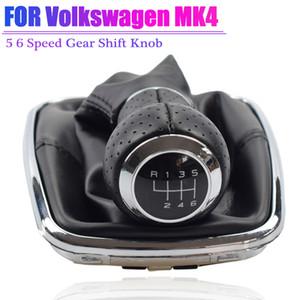 والعتاد تحول مقبض الباب ليفر شيفتر رئيس كرة اليد عصا صالح لفولكس واجن VW 1999-2004 MK4 IV GTI R32 بورا جيتا الجرموق الحذاء غطاء