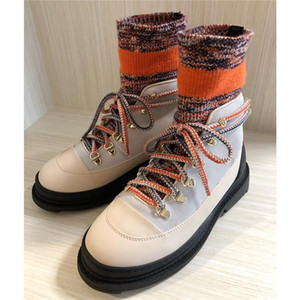 Women Black Sock Knit Sneaker Boots, Winter Shoes Oversized Runner Sneaekers Sock Ankle Boot Size 35-40 Come with Box