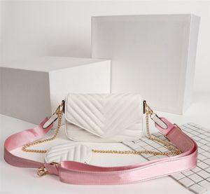 Designer Luxury Handbags Purses Multi Pochette New Wave Bag Women Brand Bag Three-Piece Suit Waist Pack Real Leather Shoulder Bags
