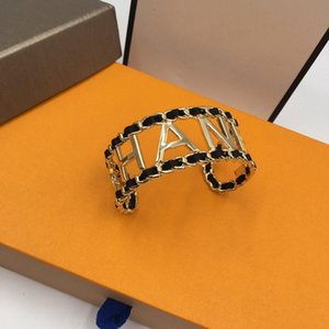 Leather bracelet designer jewelry women necklace rings luxury earrings love bracelet mens 14k gold chains cuban link chain 2020 new