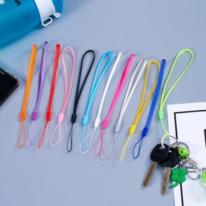 Nylon Wrist Hand Cell Phone Mobile Chain Straps Keychain Camera USB MP4 Charm Cords DIY Hang Rope Lanyard