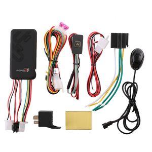 GT06 Mini Car Tracker GPS GSM SMS GPRS del vehículo de seguimiento en línea Monitor del sistema de control remoto de alarma de la motocicleta + Micrófono