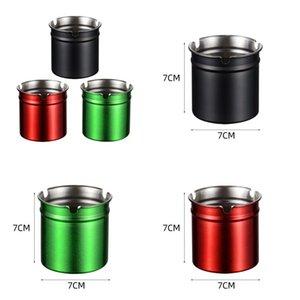 Nonrust Aço Cinzeiros Superfície pintura em forno Acessórios fumar Cilindros Porto U Forma Household Sundrie forte capacidade antioxidante 4 4y E2