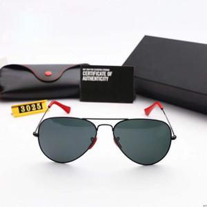 RayBan RB 3026 남자를위한 뜨거운 판매 10pcs 디자이너 선글라스 여름 그늘 UV400 보호 스포츠 선글라스 남자 태양 안경 18 색상