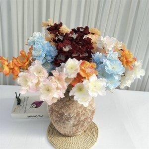 """Sahte Kısa Kök Kar Şakayık (6 kaynaklanıyor / parça) 23.62 """"Uzunluk Simülasyon Peonia Düğün Ev Vitrin için Dekoratif Çiçekler"""