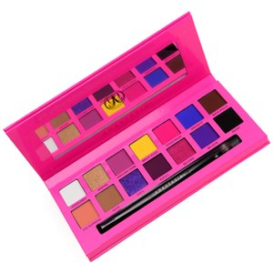 14 Color Eye Makeup Ultra Shimmer Couture Eyeshadow Palette 14 x 0.8g for 0.392 oz