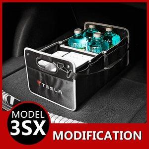 Модификация Магистральные складной ящик для хранения ящик для хранения Отсек для аксессуаров Модель 3 S X Car