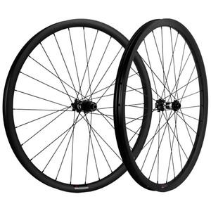ارتفاع TG 29ER جبل الكربون العجلات 25MM العمق MTB الكربون عجلات 35MM العرض DT350 6 مسامير محور AXLE THRU / QR