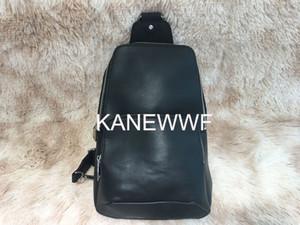 Real leather Men chest bag AV. SLING BAG D.GRAP. N41719 travel bag MENS cross body breast shoulder pouch N41612 N41473 41473 N41712 AVENUE