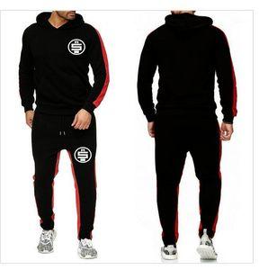 Designer Survêtements Printemps Automne 2pcs Casual sport Costumes Chemises Pantalones Ensembles Hommes Nipsey Hussle tout l'argent