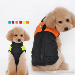 Vestiti Del Cane di Modo Per Il Piccolo Cane Cappotto di Inverno Giacca cani maglia Pet Abbigliamento Winterproof 6 colori