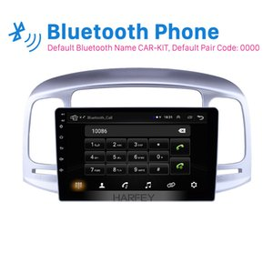 """Harfey Car GPS 9 """" Stereo Android 8.1 Auto Radio For Accent 2006-2011 Head Unit Bluetooth with Music AUX WIFI support DVR car dvr"""