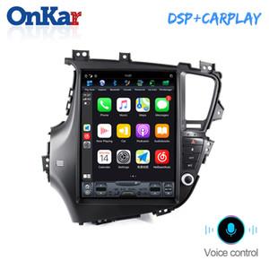 Android 9 Tesla Stil NEIN Auto-DVD-Spieler GPS-Navigation für KIA K5 Optima 2010-2014 Autoradio Stereo Head Unit Multimedia Player