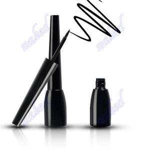 nuevo llega la botella delineador de ojos de color café con leche 4 azul oscuro negro con la caja de negro paquete no logo aceptar su logotipo de impresión cosméticos a prueba de agua