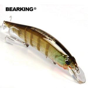 leurres de pêche modèle chaud Bearking détail appât dur couleurs différentes pour choisir 120mm 18g vairon, qualité professionnelle vairon