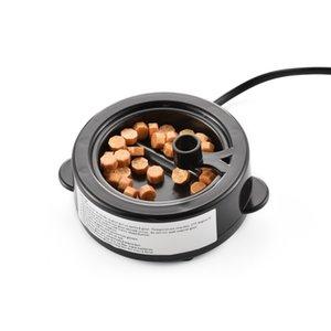 US Tomada 50ml fogo cera quente derrete Aquecedor 60W cera varas Beads derretimento Wax Seal Melting Pot Fogão