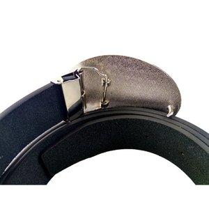 Mens fashion belt Western cowboy belt With State of Texas flag logo Big buckle metal Black Pu leather belts for jeans