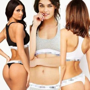 Women's 100% Cotton Underwear Bras Sets Sexy Underpants Summer Swimwear Tops Pants Underpants Briefs Luxary Bikini Multi-colors