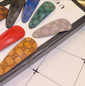 2020 yeni deri damla şeklinde bir toka mizaç BB klip patlama klibi moda yan klip toptan takı aksesuarları