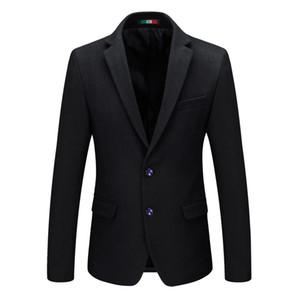Singolo strada americana Uomo Blazer in lana Redingote Royal Blue Giacca 2.019 costumi di scena per Cantanti Mens Blazer SR38