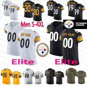 Steelerscustom Men's 39 Minkah Fitzpatrick 6 Devlin Hodges 19 JuJu Smith-Schuster T.J. Watt women youth jerseys