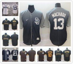 San Diego Padres personalizada Jersey Fernando Tatis Jr. Apodo Manny Machado Chris Paddack Eric Hosmer Lauer Eric Hunter Renfroe EL NIÑO