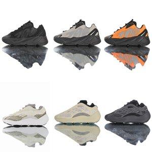 Adidas YEEZY 700 V3 v2 Alvah incandescente nel buio Scarpe da corsa ragazze Sneakers 3M MNVNS mens arancione Ragazze Ragazzi azael nero Kanye Wests riflettente Bone Formatori