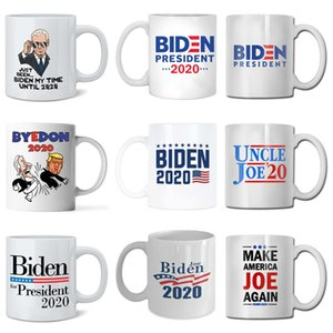 New 2020 US election Joe Biden ceramic mug US presidential election coffee cup summer Drinking water cups kitchen Drinkware tools T9I00427