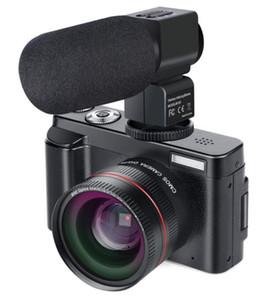 """Videocamera digitale Videocamera Full HD 1080P 24.0MP con obiettivo grandangolare e 32GB SD Card, 3,0"""" Funzione ScreenWiFi 5pcs DHL"""