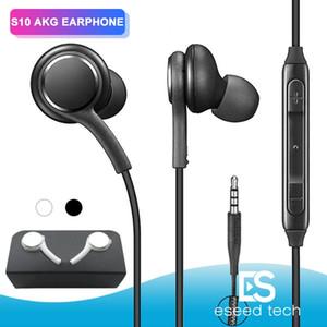OEM S10 auriculares auriculares auriculares auriculares para el iPhone 6 Plus Samsung S9 S8 s7 ventaja para Jack en la oreja de 3,5 mm cable negro y blanco EO-IG955