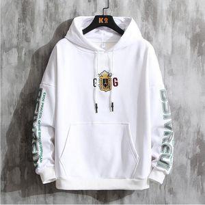 New Designer Hoodies For Men Spring Mens Hoodie Sweatshirt Loose Style lin 2oFashion Pullover print white black Pattern fashion sweat