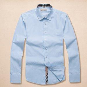 الفانيلا الجديد 2020 الخريف والشتاء الرجال كبيرة منقوشة جيب مزدوج مقنعين الرجال عارضة منقوشة ذات أكمام طويلة قميص الرجل مصمم القمصان