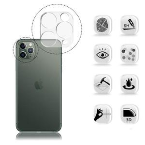 Neuer Ankunfts-Telefon-Kamera-Objektiv-Ausgeglichenes Glas für Iphone 11 Pro Max XS XR transparenten Schirm-Schutz-Volldeckung