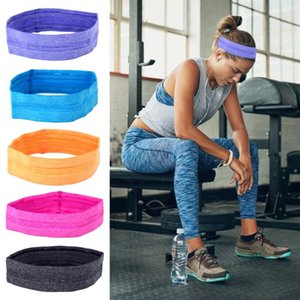 Antiskid Sweat Absorbing And Elastic Sports Hair Band Men Women Elastic Sweatband Anti-Slip Yoga Fitness Running Sports Headband