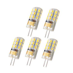 G4 G9 LED SMD 2835 AC DC 12V AC 110V \ 220V 할로겐 램프 빛 360 빔 각도 크리스마스 LED 전구 램프 CRESTECH