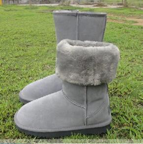 Vendita calda di alta qualità Stivali alti classici da donna WGG Stivali da donna Stivali Stivali da neve Stivali invernali Stivali in pelle TAGLIA USA 4-13