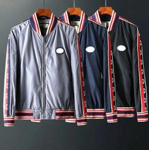 Sweatshirts Fashion Autumn Hoodies Jackets Mens sport Windbreaker Patchwork Zipper Coats Casual Outerwear Jackets Hotsale gucc M-XXL hcs06
