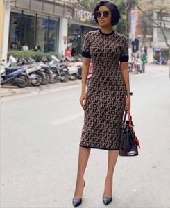 Bow Kalem elbise Mini Elbise Kulübü Giyim baskı Sexy Lady İnce Elbise Kadınlar Kısa Kollu BODYCON Parti Elbise Yaz Akşam Lady Letter