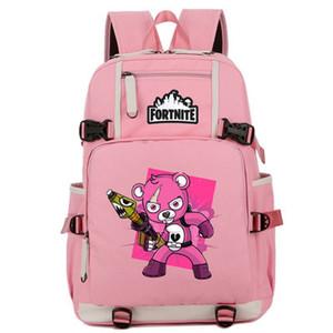 Cuddle Team Leader Rucksack Lead Day Pack Pink Bear Schultasche Game Packsack Computer Rucksack Sport Schultasche Outdoor Daypack